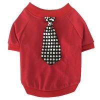 Áo cà vạt đỏ