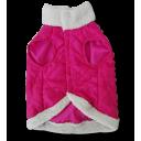 Áo khoác lông thú hồng