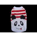 Áo Gấu Panda Trắng Đỏ