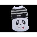 Áo Gấu Panda Trắng Xám