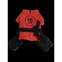 Áo Kungfu - Đỏ