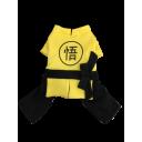 Áo Kungfu - Vàng