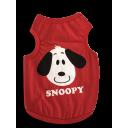 Áo Snoopy - Đỏ