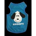 Áo Snoopy - Xanh Dương