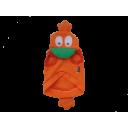 Áo con vịt cam