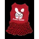Đầm rabit đỏ