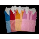 Đầm yếm sọc